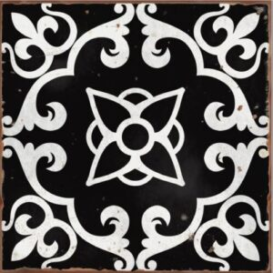 Design 8 Traditional tile transfers stickers wall Vintage Victorian Moroccan retro mosaic
