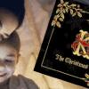 Beautiful softback luxury gold foil krampus book- a christmas eve rhyming tale
