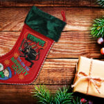 krampus unisex stocking