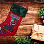 santa for a girl stocking